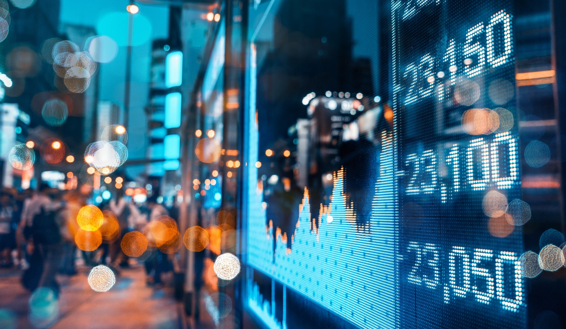 Sapere Software | Bespoke Software Solutions | Stock market display
